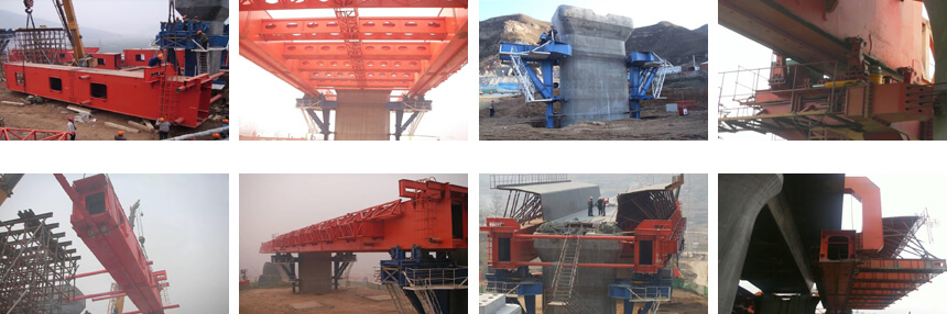 Underslung Movable Scaffolding System