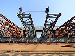 Overhead Movable Scaffolding System