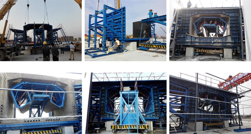 Segment Box Girder Mould