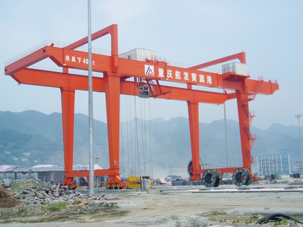 Rail Mounted Container Gantry Crane