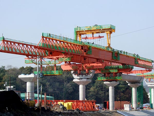 Overhead Segmental Launching Gantry