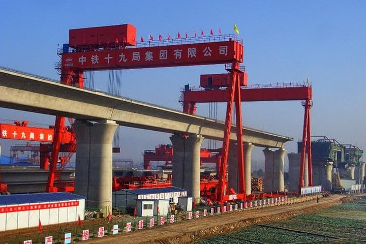 900 Ton 32 M Full Span Launching Gantry