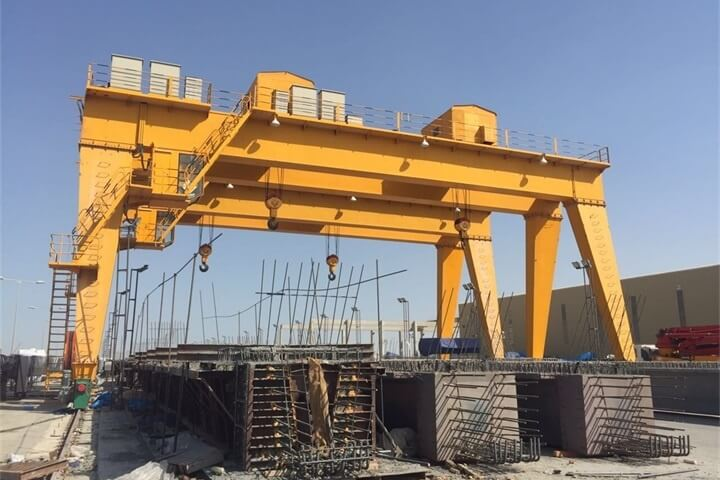 60+60 Ton Double Girder Gantry Cranes