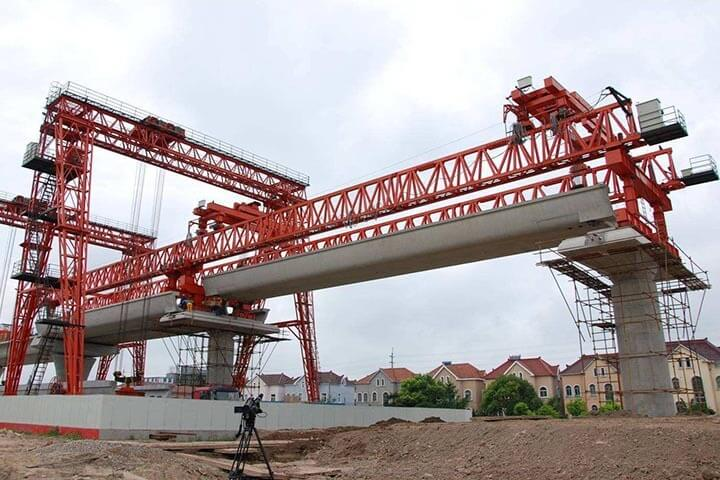 260 Tons U-beam Beam Launcher